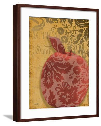 Red Apple Damask-Diane Stimson-Framed Art Print