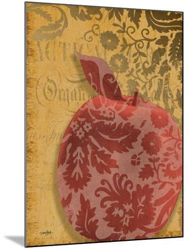 Red Apple Damask-Diane Stimson-Mounted Art Print