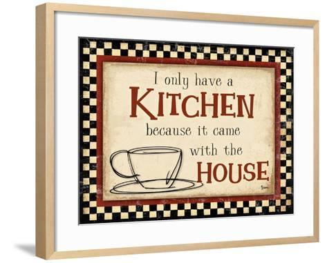Kitchen House-Diane Stimson-Framed Art Print