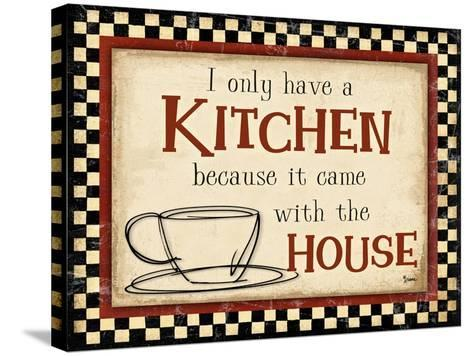 Kitchen House-Diane Stimson-Stretched Canvas Print