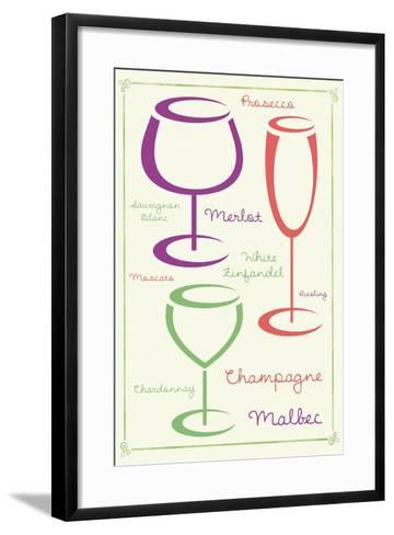Wine 2 C-Lauren Gibbons-Framed Art Print