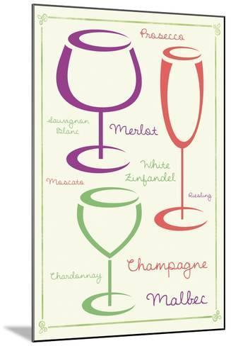Wine 2 C-Lauren Gibbons-Mounted Art Print