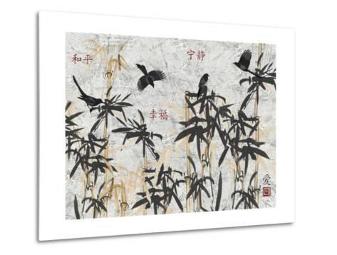 Bamboo Jungle-Diane Stimson-Metal Print