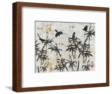 Bamboo Jungle-Diane Stimson-Framed Art Print