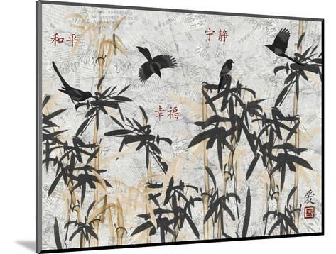 Bamboo Jungle-Diane Stimson-Mounted Art Print