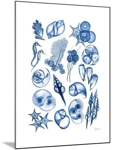 Blue Sea-Albert Koetsier-Mounted Premium Giclee Print