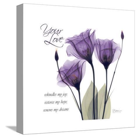 Your Love, Purple Tulip-Albert Koetsier-Stretched Canvas Print