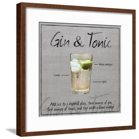 Gin Tonic-Lauren Gibbons-Framed Art Print