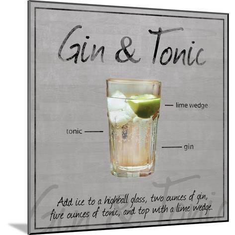 Gin Tonic-Lauren Gibbons-Mounted Art Print