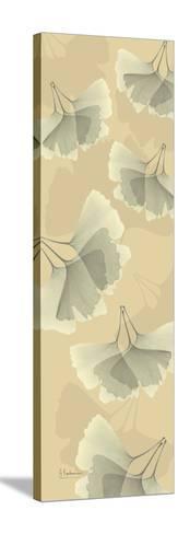 Falling Gingkos-Albert Koetsier-Stretched Canvas Print
