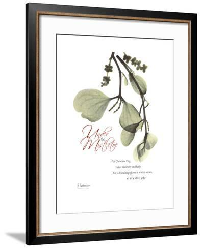Xmas Mistletoe-Albert Koetsier-Framed Art Print