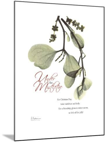 Xmas Mistletoe-Albert Koetsier-Mounted Premium Giclee Print