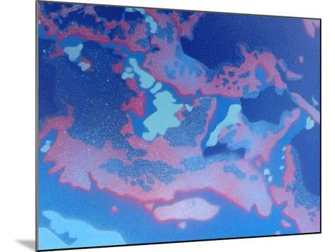 Abstract Waves-Abstract Graffiti-Mounted Giclee Print