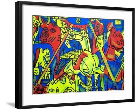 Guernica-Abstract Graffiti-Framed Art Print