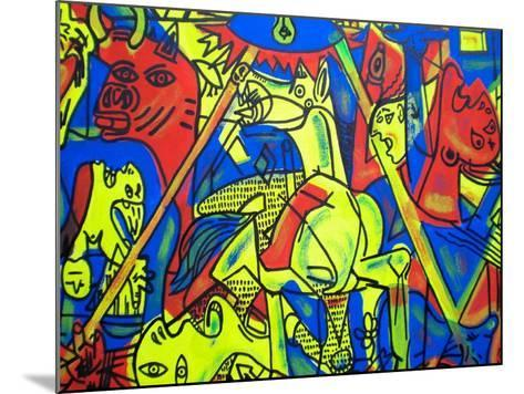 Guernica-Abstract Graffiti-Mounted Giclee Print