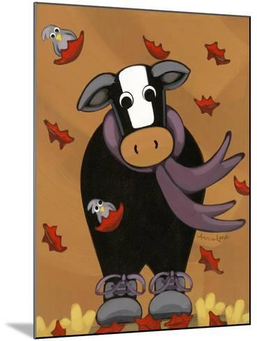 Autumn Mooves In-Annie Lane-Mounted Giclee Print