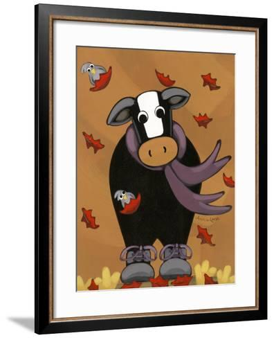 Autumn Mooves In-Annie Lane-Framed Art Print