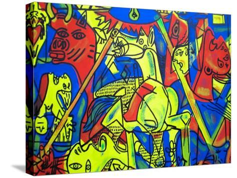 Guernica-Abstract Graffiti-Stretched Canvas Print