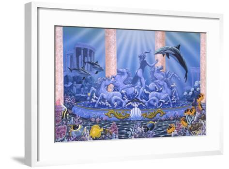 Dancing in the Light-Apollo-Framed Art Print