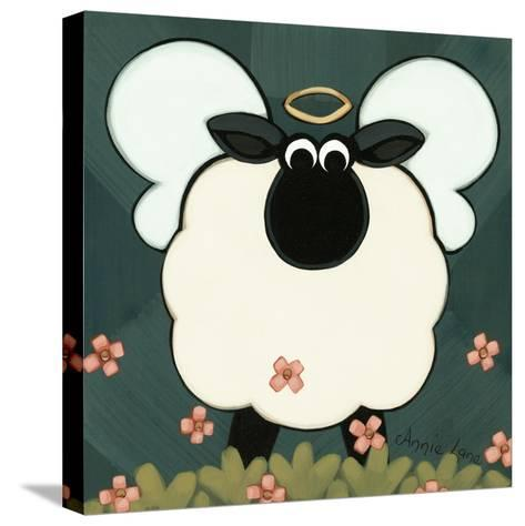 Holy Sheep-Annie Lane-Stretched Canvas Print