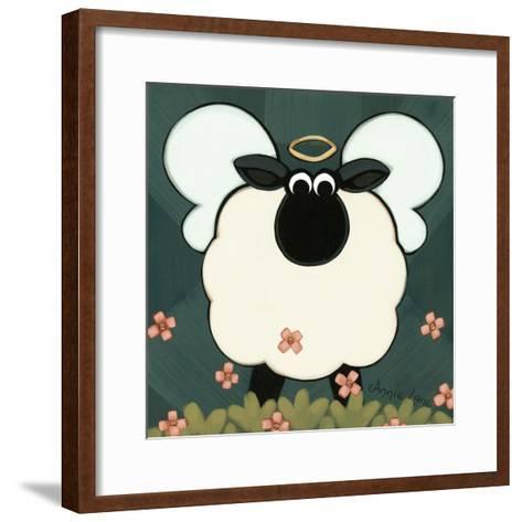 Holy Sheep-Annie Lane-Framed Art Print