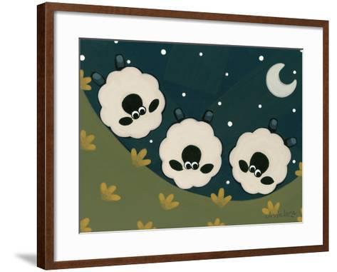 Spinning Wool-Annie Lane-Framed Art Print