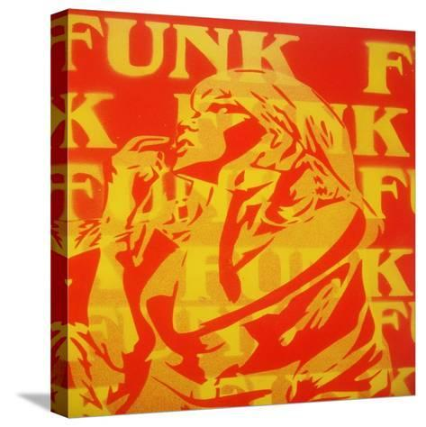 Funk-Abstract Graffiti-Stretched Canvas Print