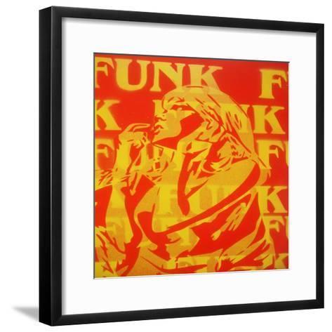Funk-Abstract Graffiti-Framed Art Print