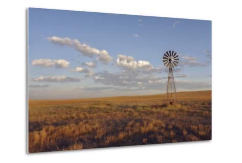 South Leunberger Windmill at Sunset-Amanda Lee Smith-Metal Print
