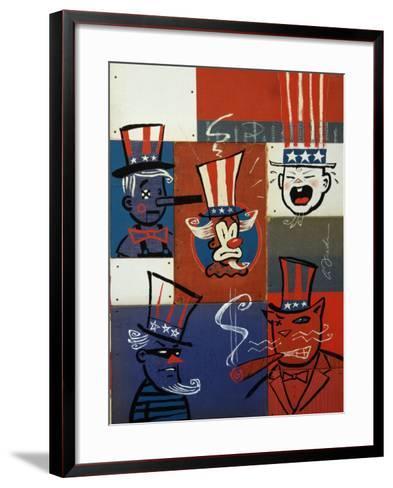 Congress-Anthony Freda-Framed Art Print