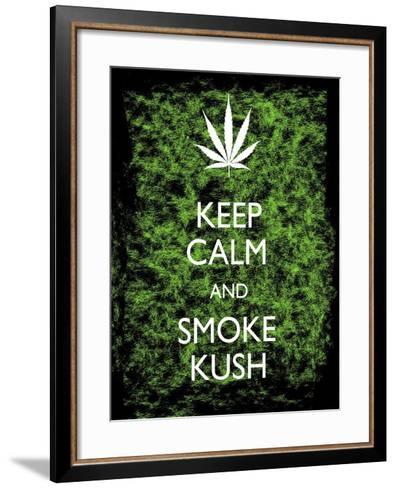 Keep Calm-Ali Potman-Framed Art Print