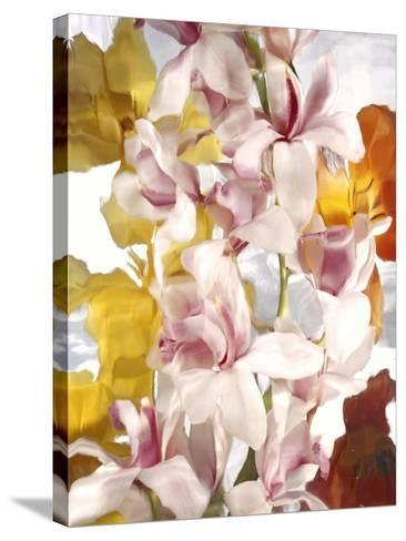 Flowers-Andrzej Pluta-Stretched Canvas Print
