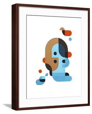 Me, Myself and I-Antony Squizzato-Framed Art Print