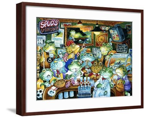 Spud's Sportsbar-Bill Bell-Framed Art Print