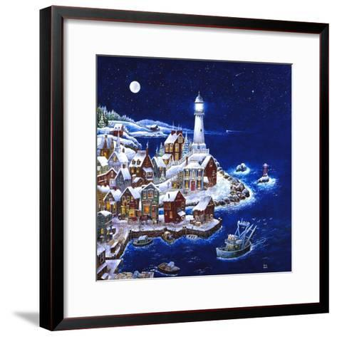 Night Light-Bill Bell-Framed Art Print