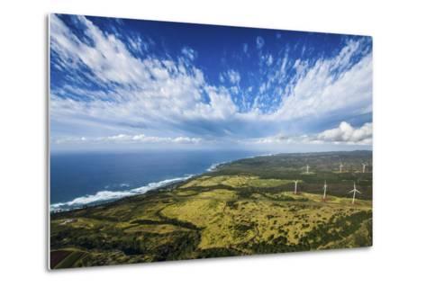 North Shore Windmills-Cameron Brooks-Metal Print