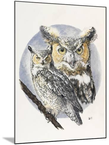 Intrepid-Barbara Keith-Mounted Giclee Print