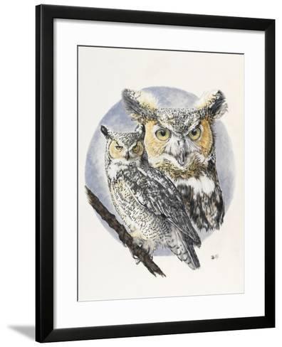 Intrepid-Barbara Keith-Framed Art Print