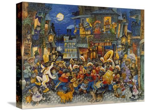 New Orleans-Bill Bell-Stretched Canvas Print