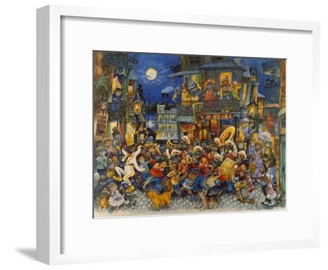 New Orleans-Bill Bell-Framed Art Print