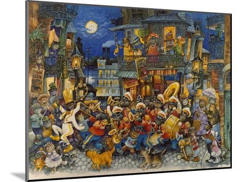 New Orleans-Bill Bell-Mounted Giclee Print