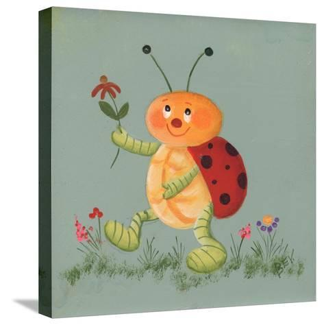 Beetle-Beverly Johnston-Stretched Canvas Print