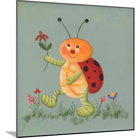 Beetle-Beverly Johnston-Mounted Giclee Print