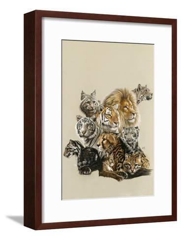All in the Family-Barbara Keith-Framed Art Print