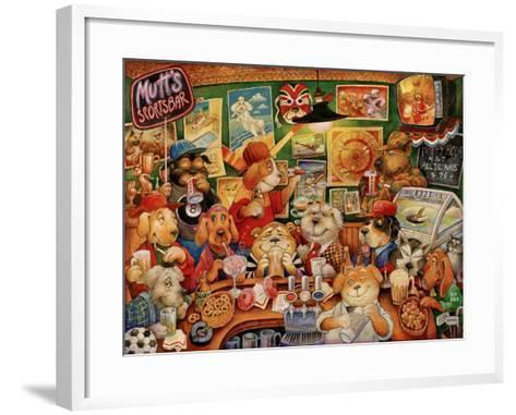Mutt's Sportsbar-Bill Bell-Framed Art Print