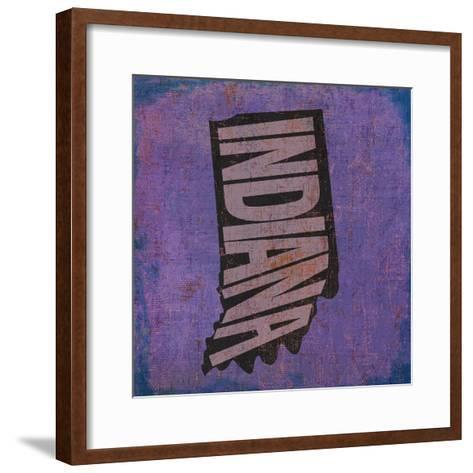 Indiana-Art Licensing Studio-Framed Art Print