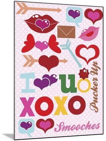Valentine 01-Asmaa' Murad-Mounted Giclee Print