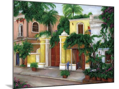 Hacienda Parrots-Betty Lou-Mounted Giclee Print