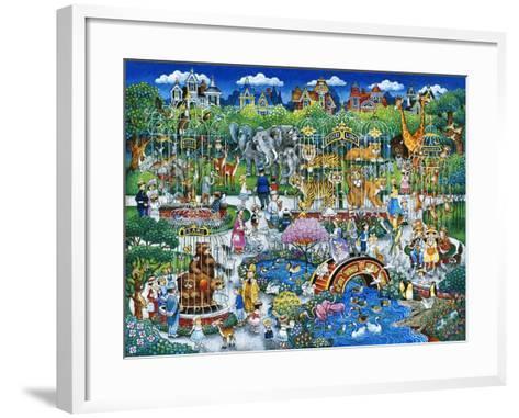 Victorian Zoo-Bill Bell-Framed Art Print