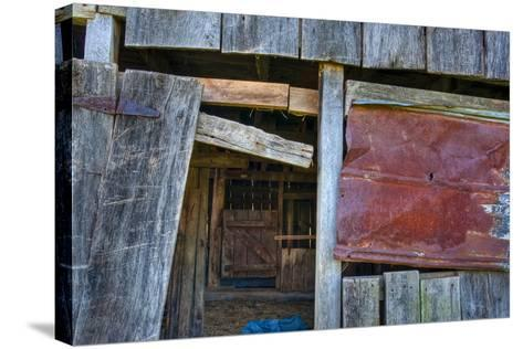Range Barn Doorway-Bob Rouse-Stretched Canvas Print